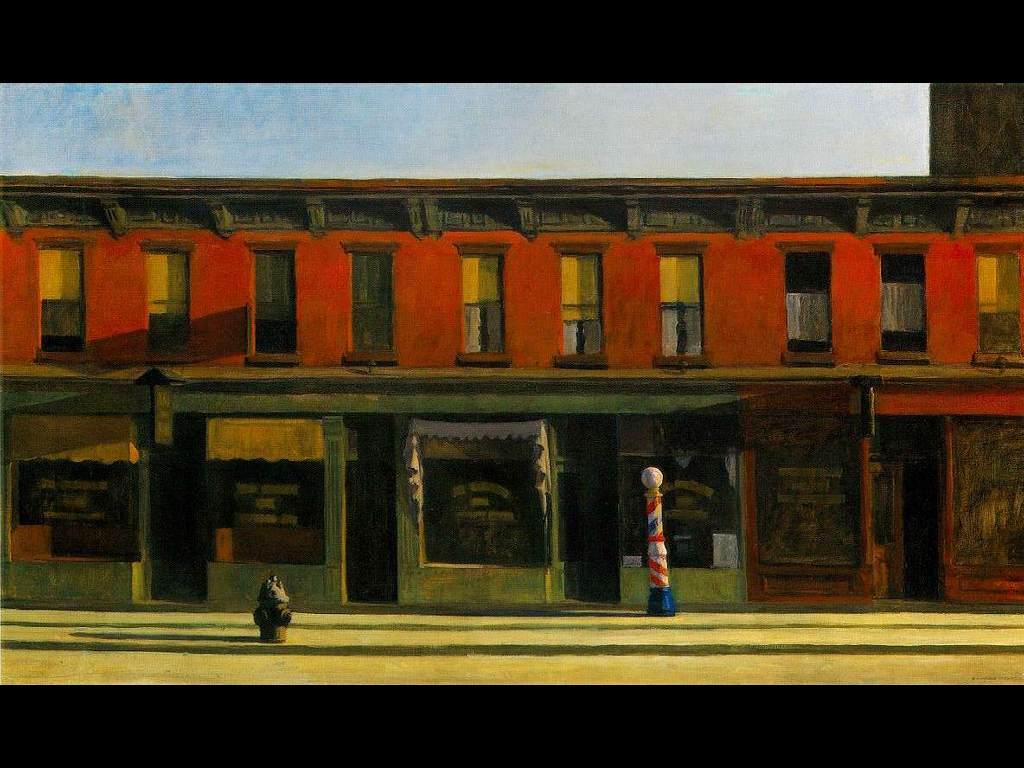 Artistic Wallpaper: Hopper - Early Sunday