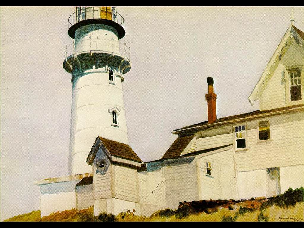 Artistic Wallpaper: Hopper - Light