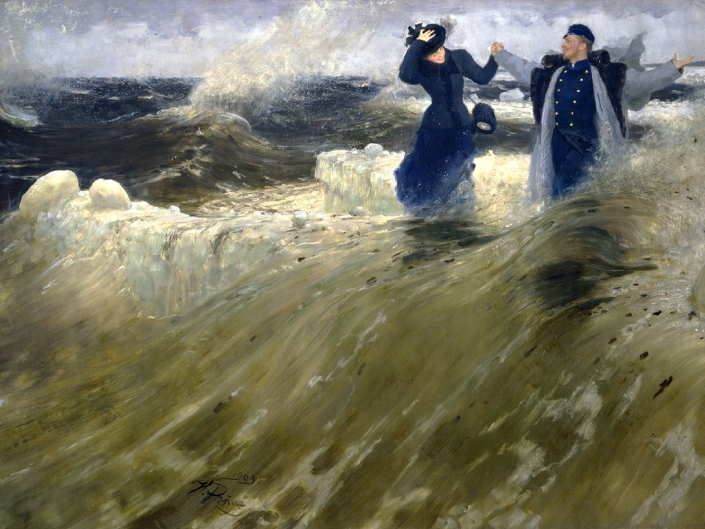 Artistic Wallpaper: Ilya Repin - What a Freedom