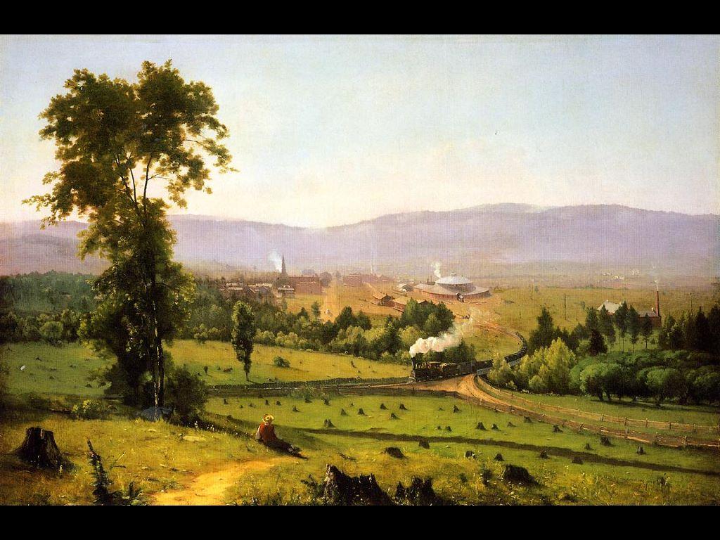 Artistic Wallpaper: Inness - The Lackawanna Valley