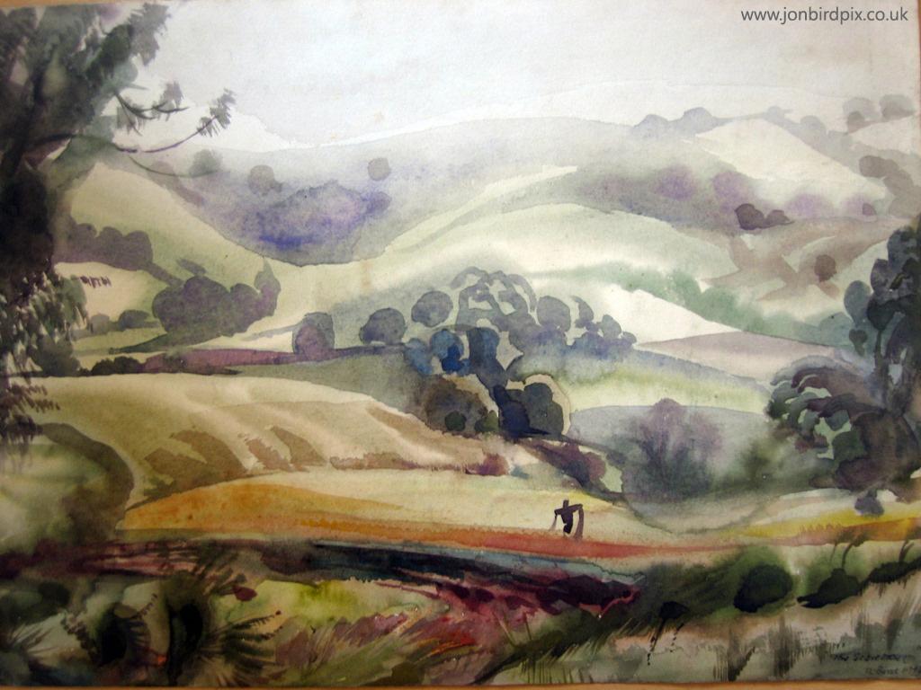 Artistic Wallpaper: James Lindsey Bird - Scarecrow