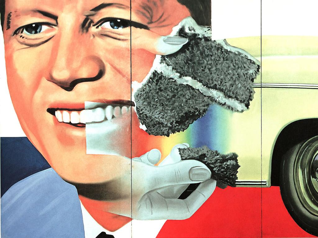 Artistic Wallpaper: James Rosenquist - President Elected