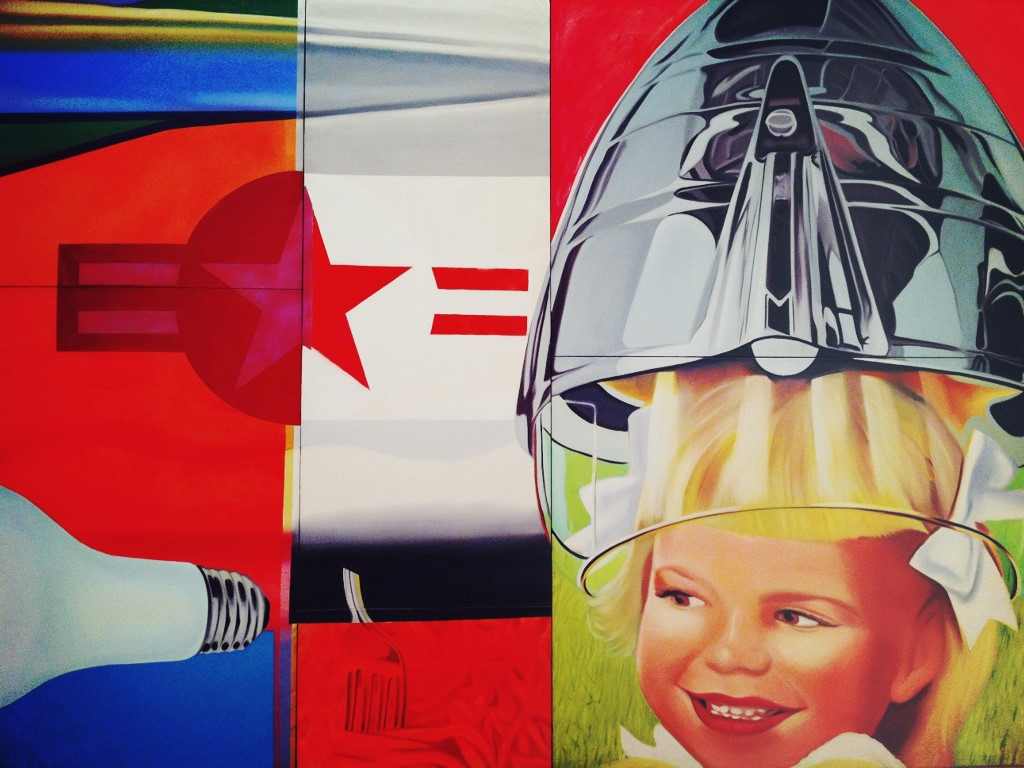 Artistic Wallpaper: James Rosenquist
