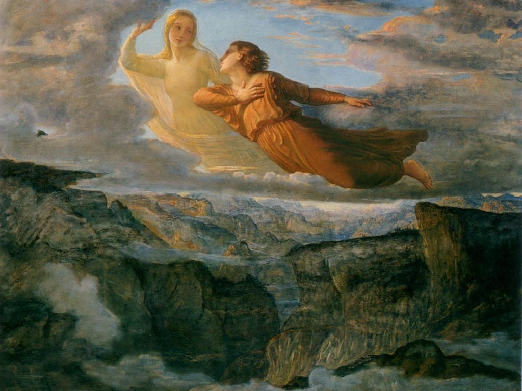 Artistic Wallpaper: Louis Janmot - L'Idéal