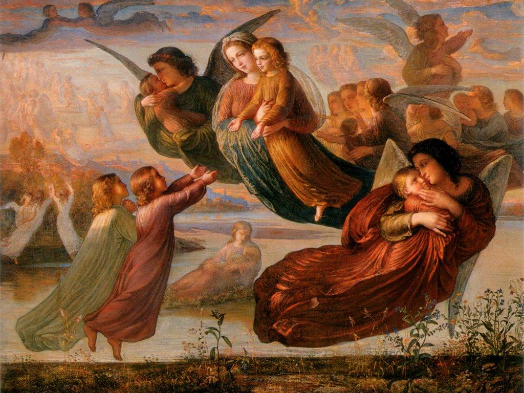 Artistic Wallpaper: Janmot Louis - Souvenir du Ciela
