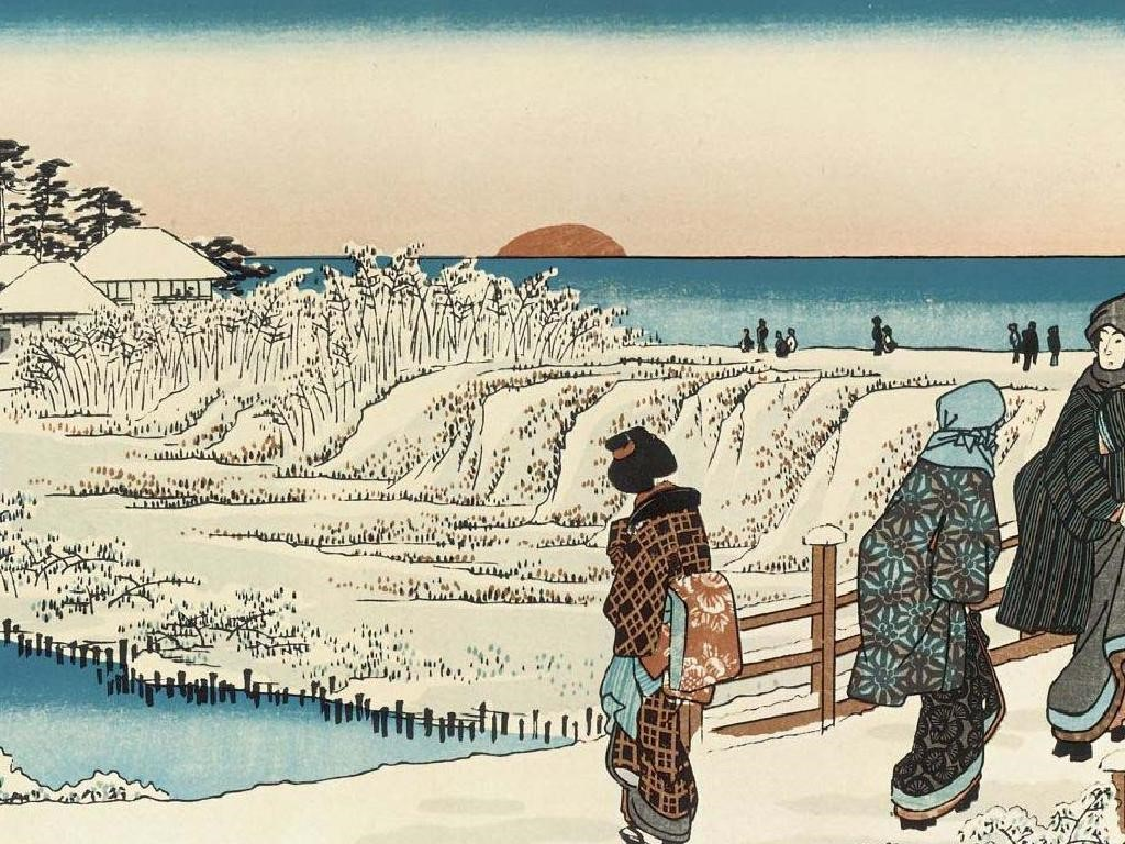 Artistic Wallpaper: Japanese Illustration