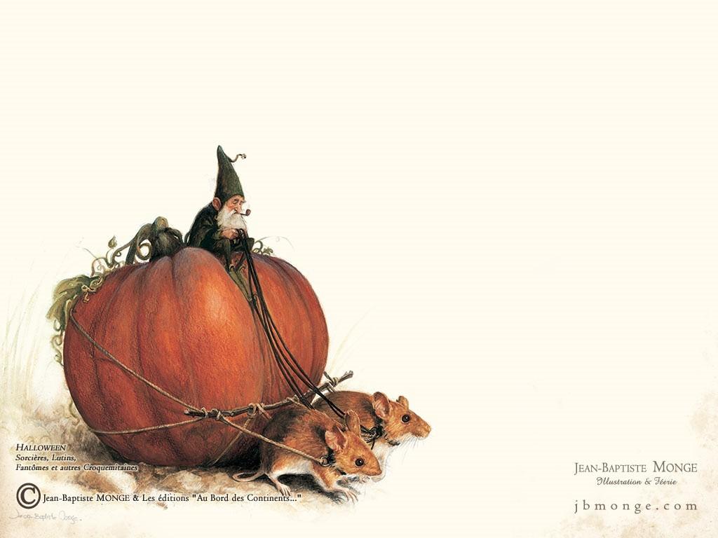 Artistic Wallpaper: Jean-Baptiste Monge - Halloween