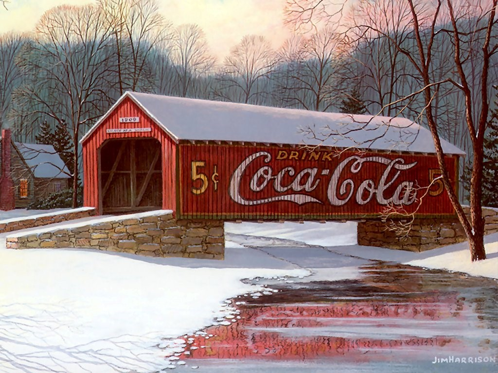 Artistic Wallpaper: Jim Harrison - Coke