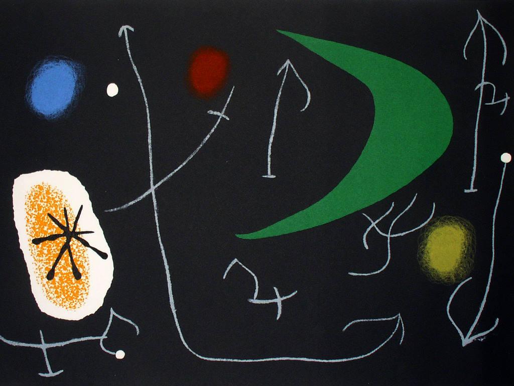 Artistic Wallpaper: Joan Miro - Lizard
