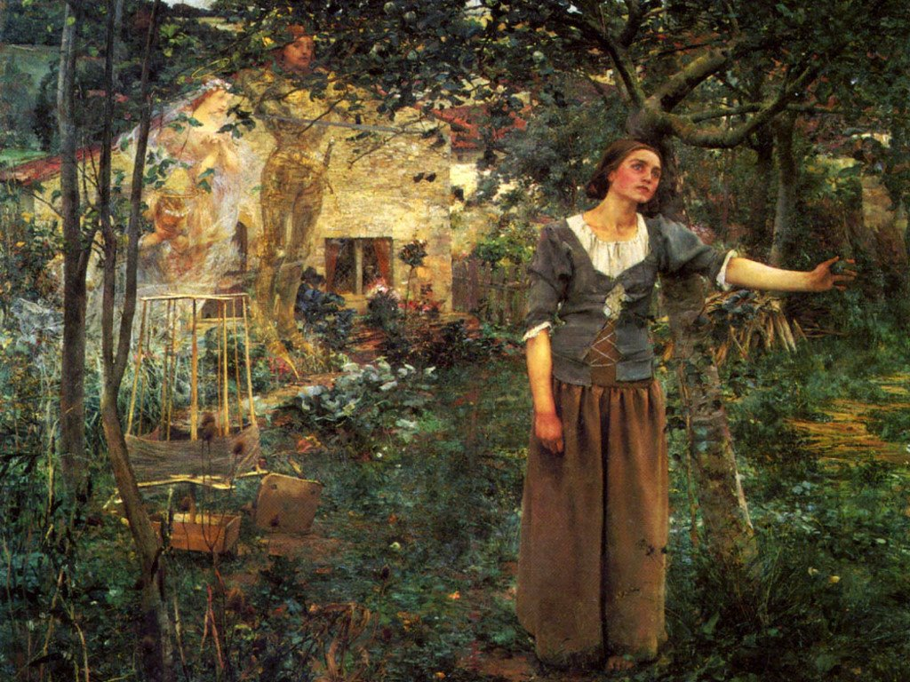Artistic Wallpaper: Jules Bastien-Lepage - Joan of Arc