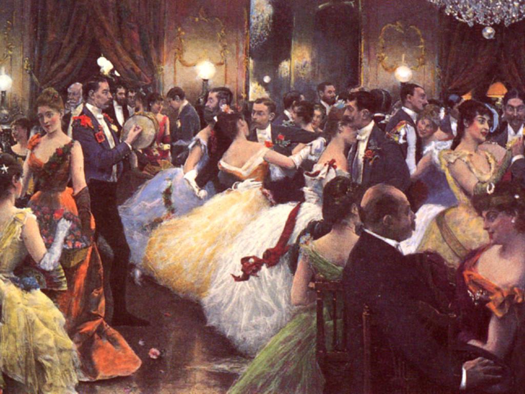 Artistic Wallpaper: Julius LeBlanc Stewart  - The Ball