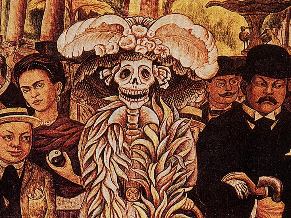 Artistic Wallpaper: Kahlo