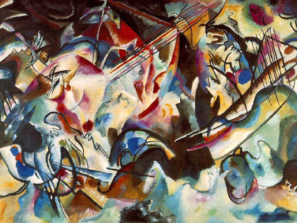 Artistic Wallpaper: Kandinsky - Composition 6