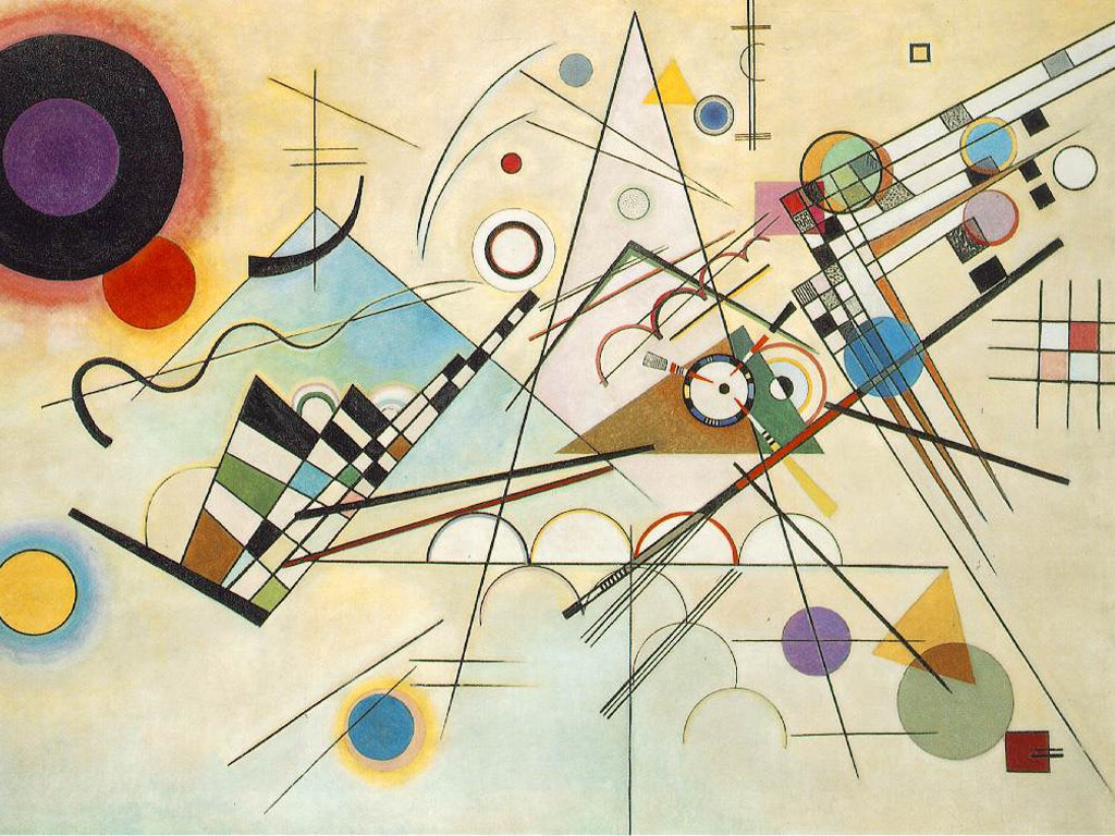 Artistic Wallpaper: Kandinsky - Composition VIII