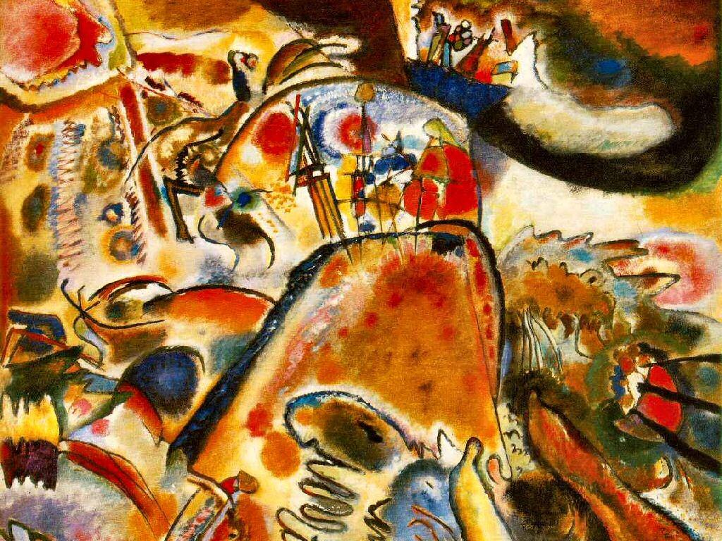 Artistic Wallpaper: Kandinsky - Small Pleasures