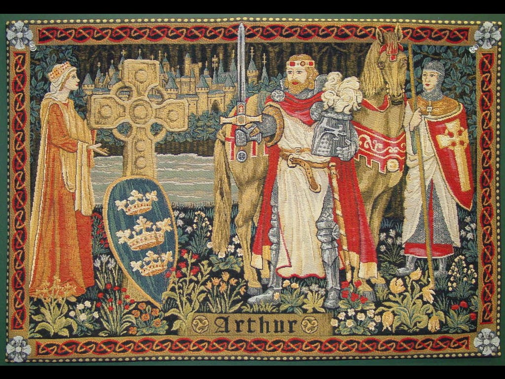 Artistic Wallpaper: King Arthur - Tapestry