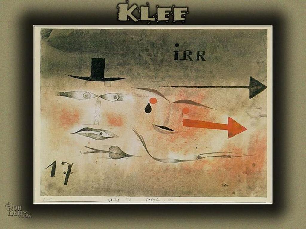 Artistic Wallpaper: Klee