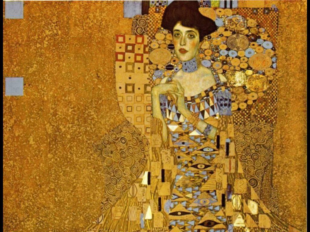 Artistic Wallpaper: Klimt - Adele Bloch Bauer