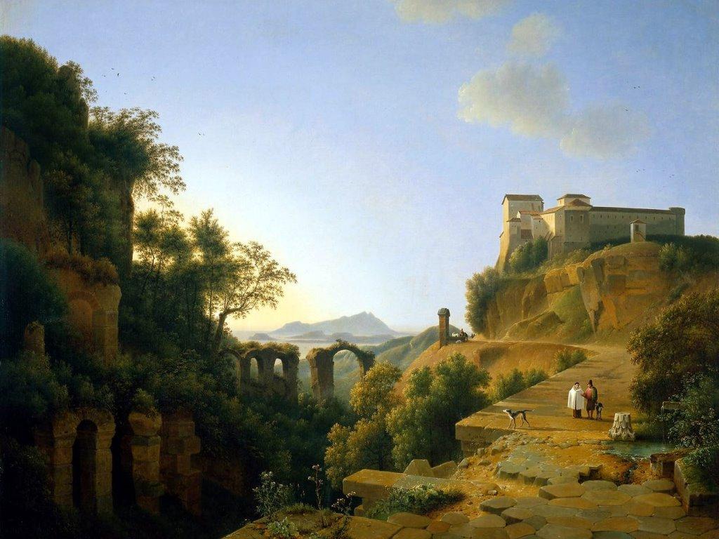 Artistic Wallpaper: Knip Josephus - Italian Landscape