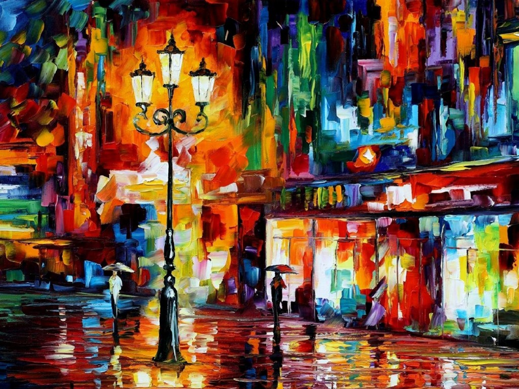 Artistic Wallpaper: Leonid Afremov