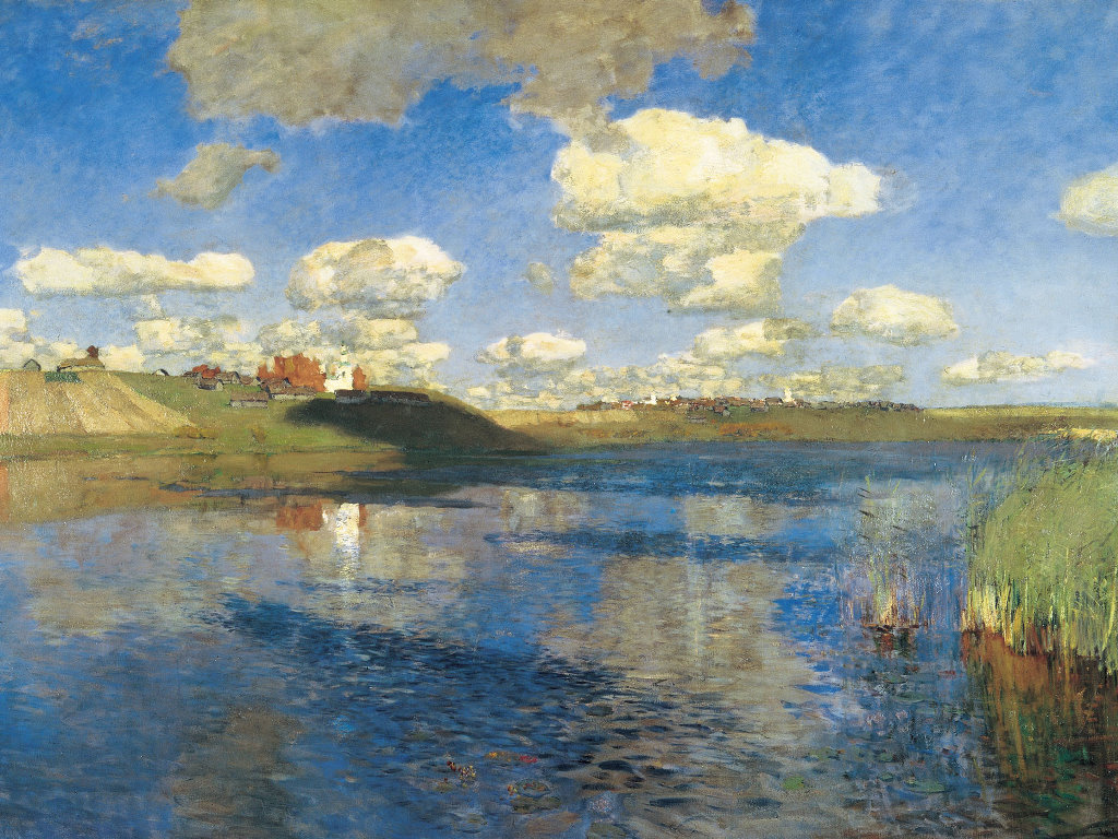 Artistic Wallpaper: Levitan - Lake