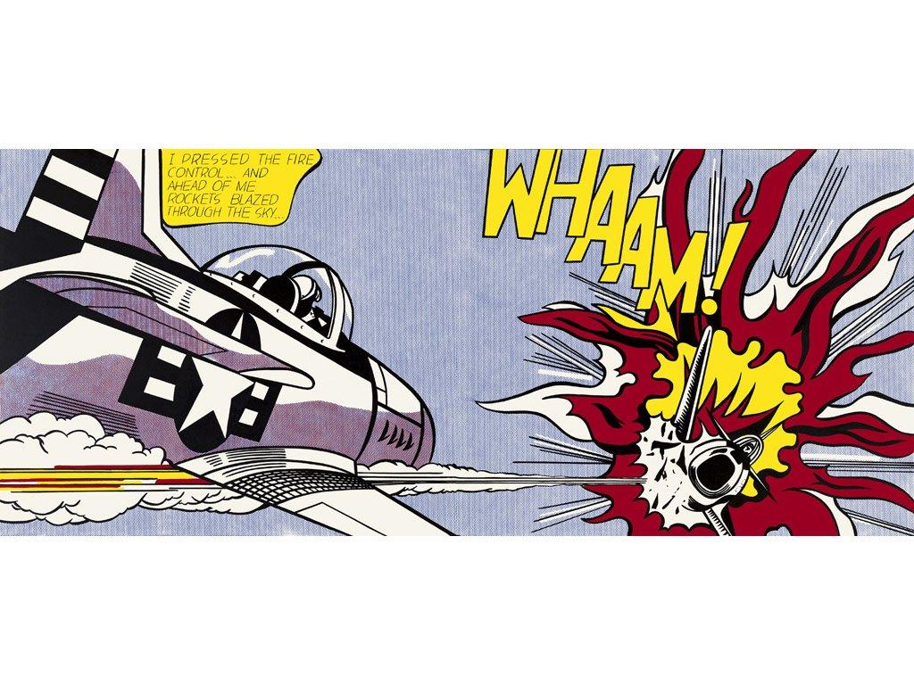 Artistic Wallpaper: Lichtenstein - Whaam!