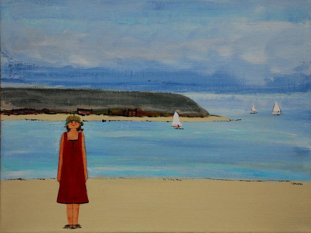 Artistic Wallpaper: Louise Lauzon - Summer Landscape