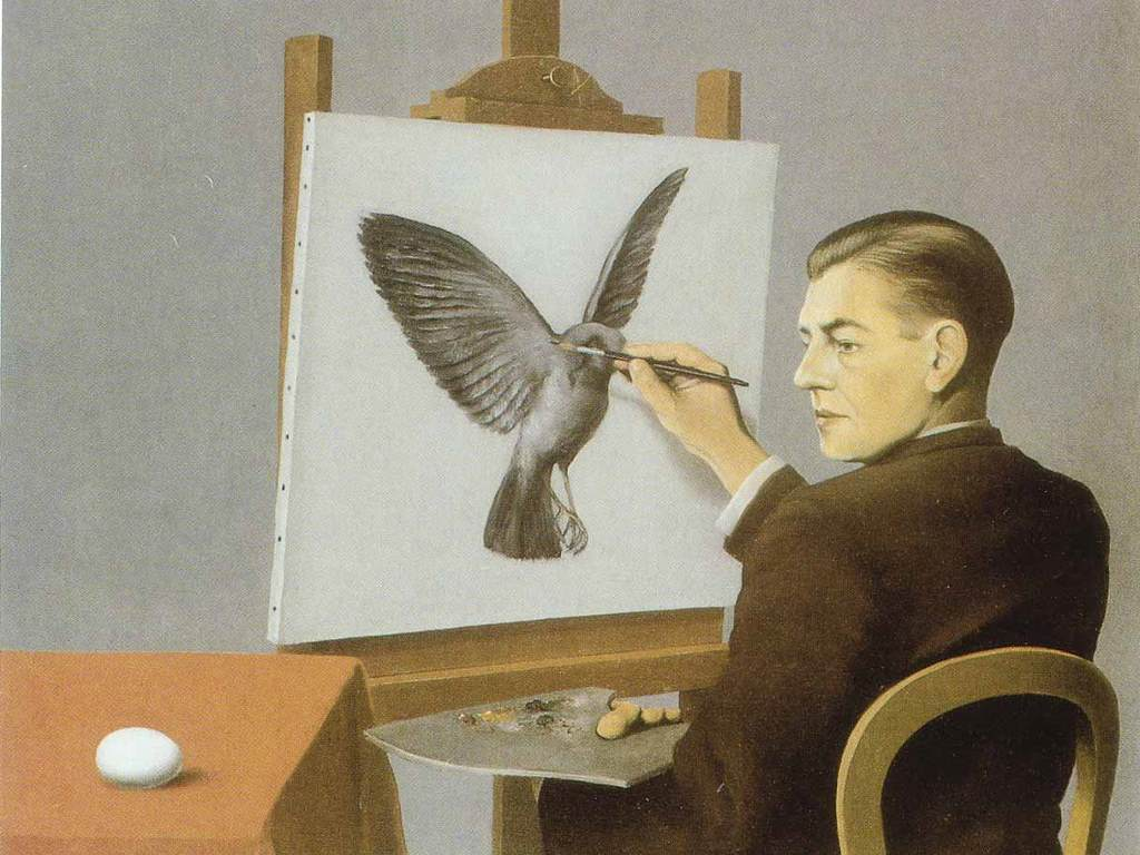 Artistic Wallpaper: Magritte