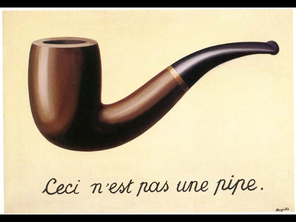 Artistic Wallpaper: Magritte - Pipe