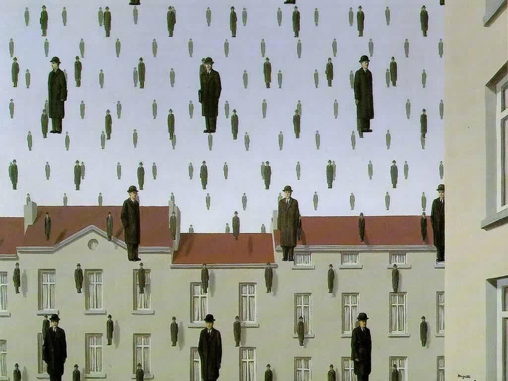 Artistic Wallpaper: Magritte