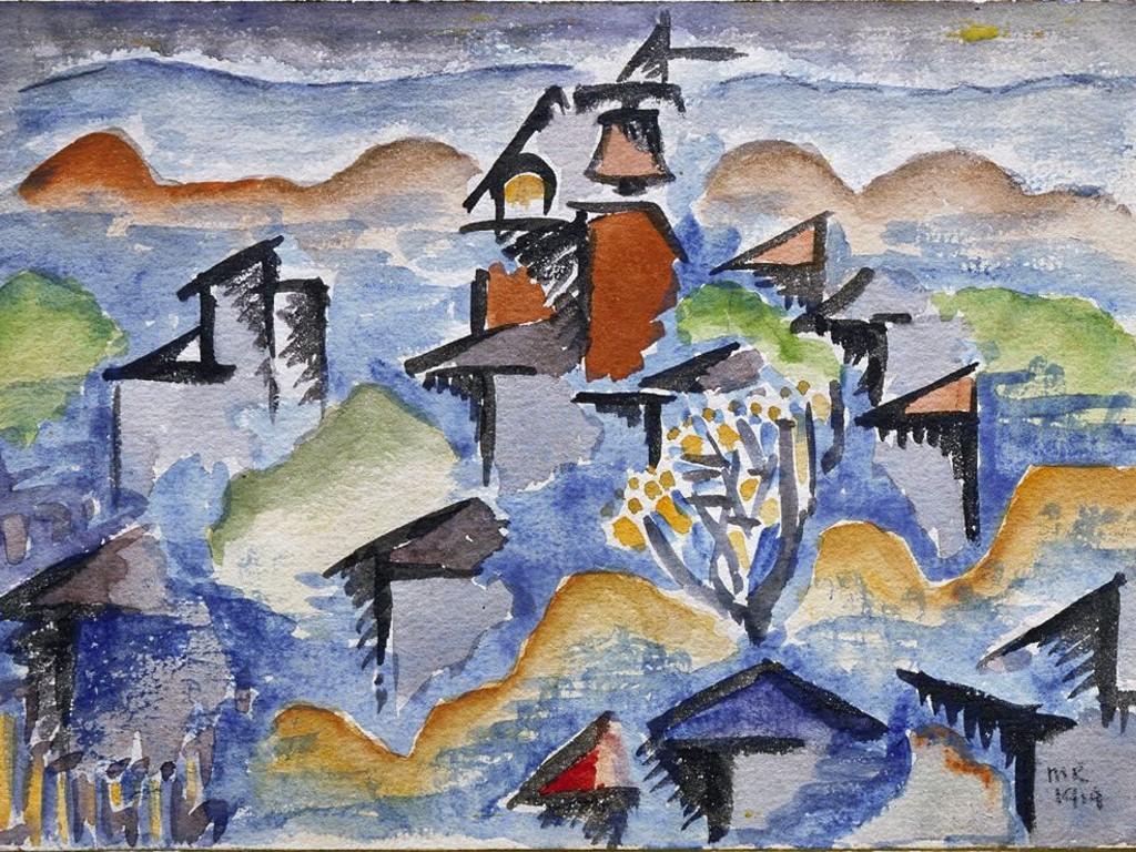 Artistic Wallpaper: Man Ray - Landscape