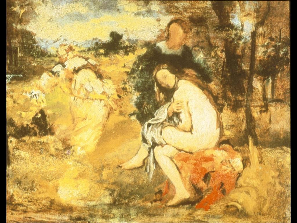 Artistic Wallpaper: Manet