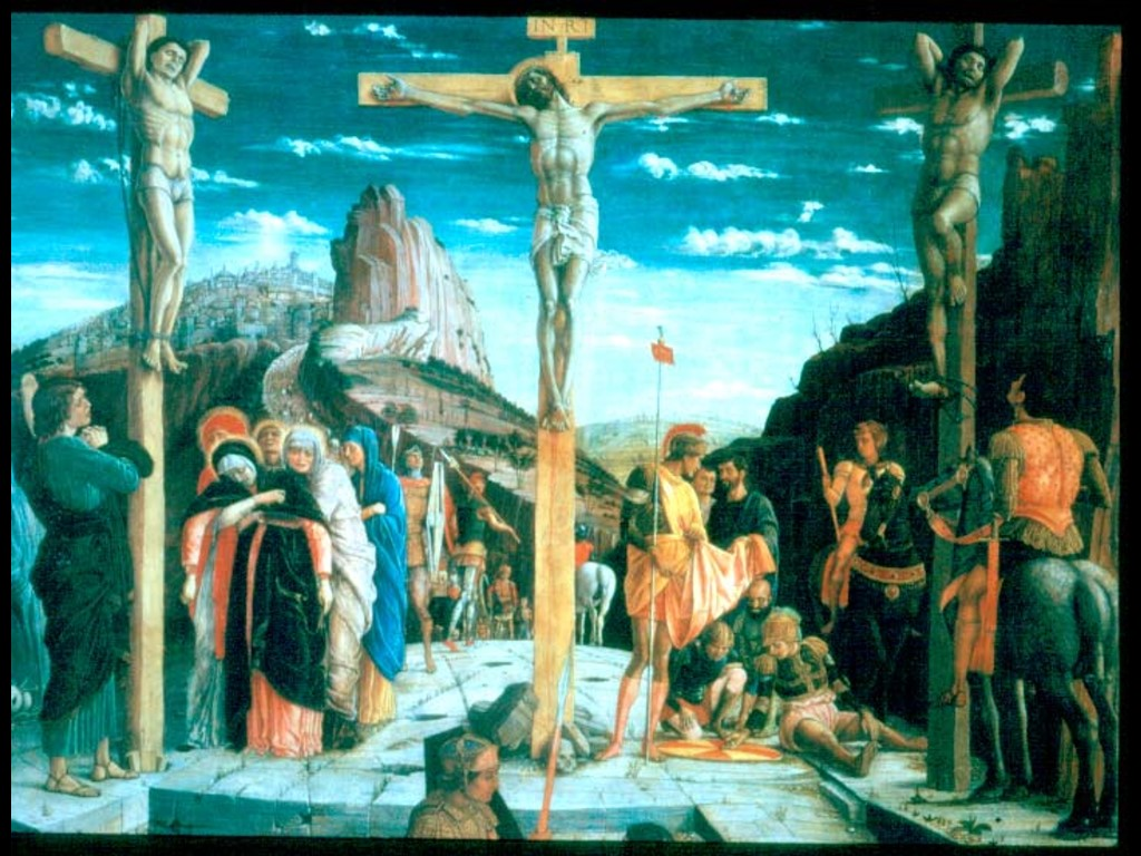 Artistic Wallpaper: Mantegna - Calvary