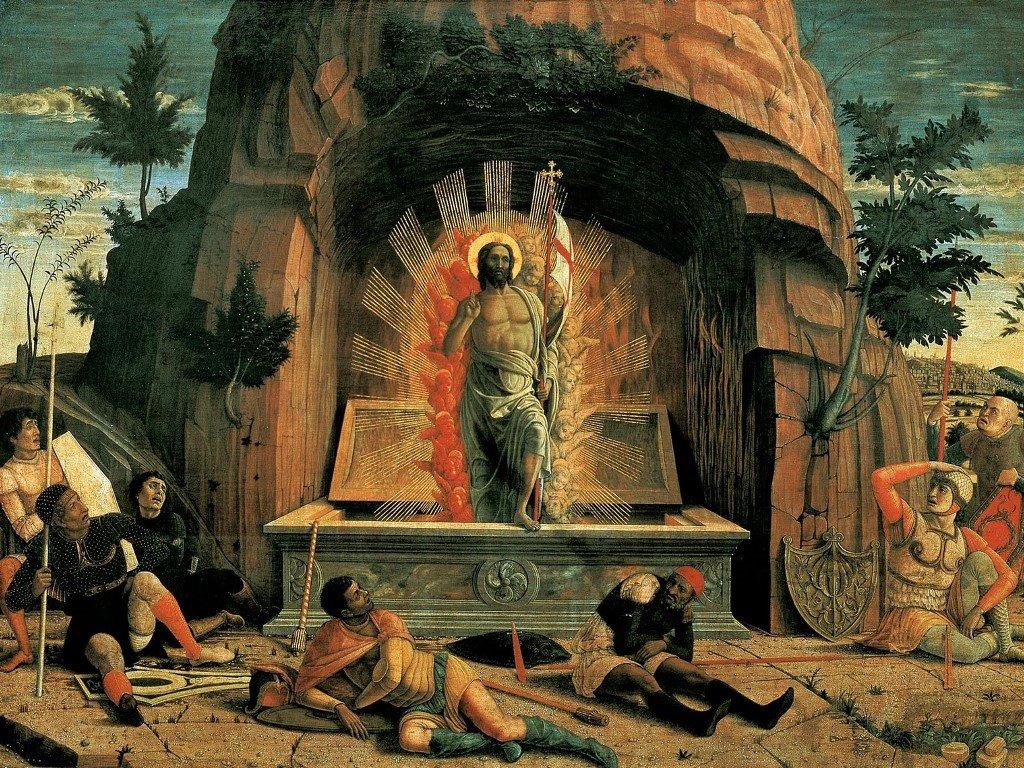 Artistic Wallpaper: Mantegna - Resurrection