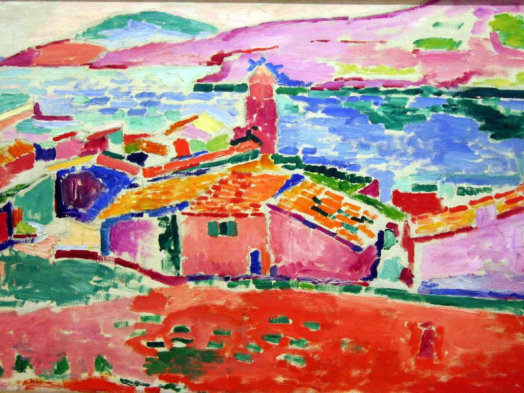 Artistic Wallpaper: Matisse - View of Callioure
