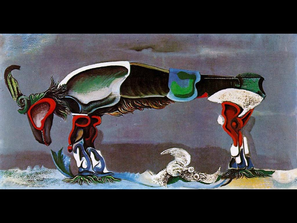 Artistic Wallpaper: Max Ernst - Beautiful Season