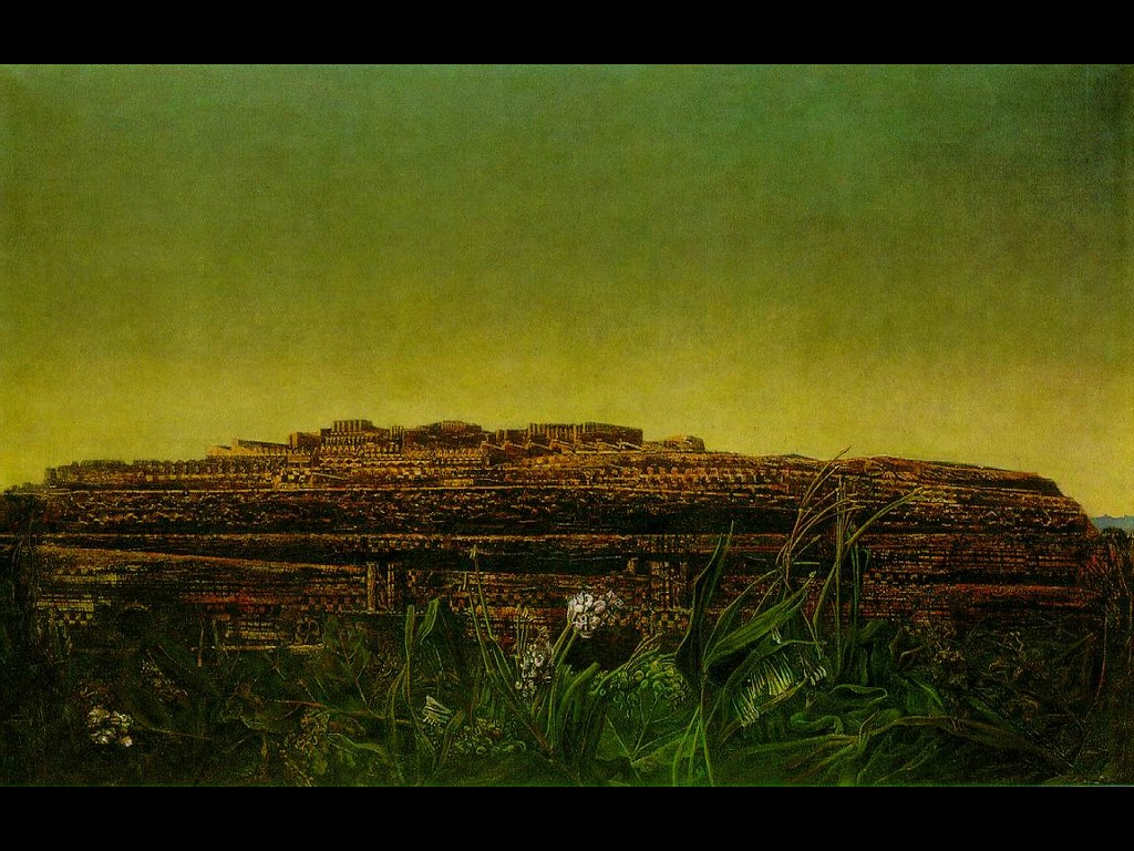 Artistic Wallpaper: Max Ernst - Entire City