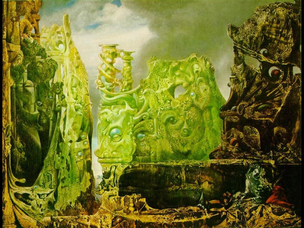 Artistic Wallpaper: Max Ernst - Silence