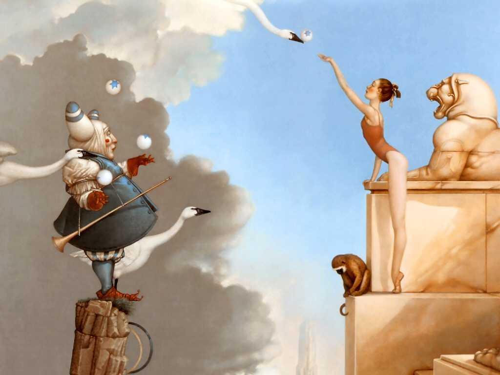 Artistic Wallpaper: Michael Parkes