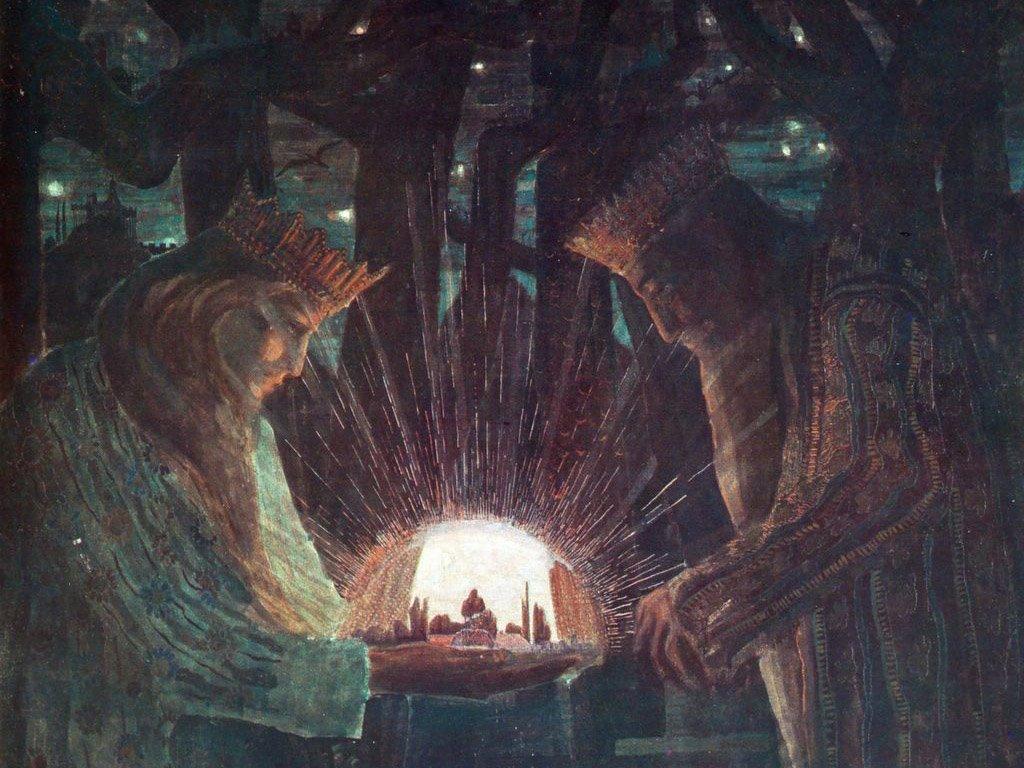 Artistic Wallpaper: Mikalojus Ciurlionis - Kings