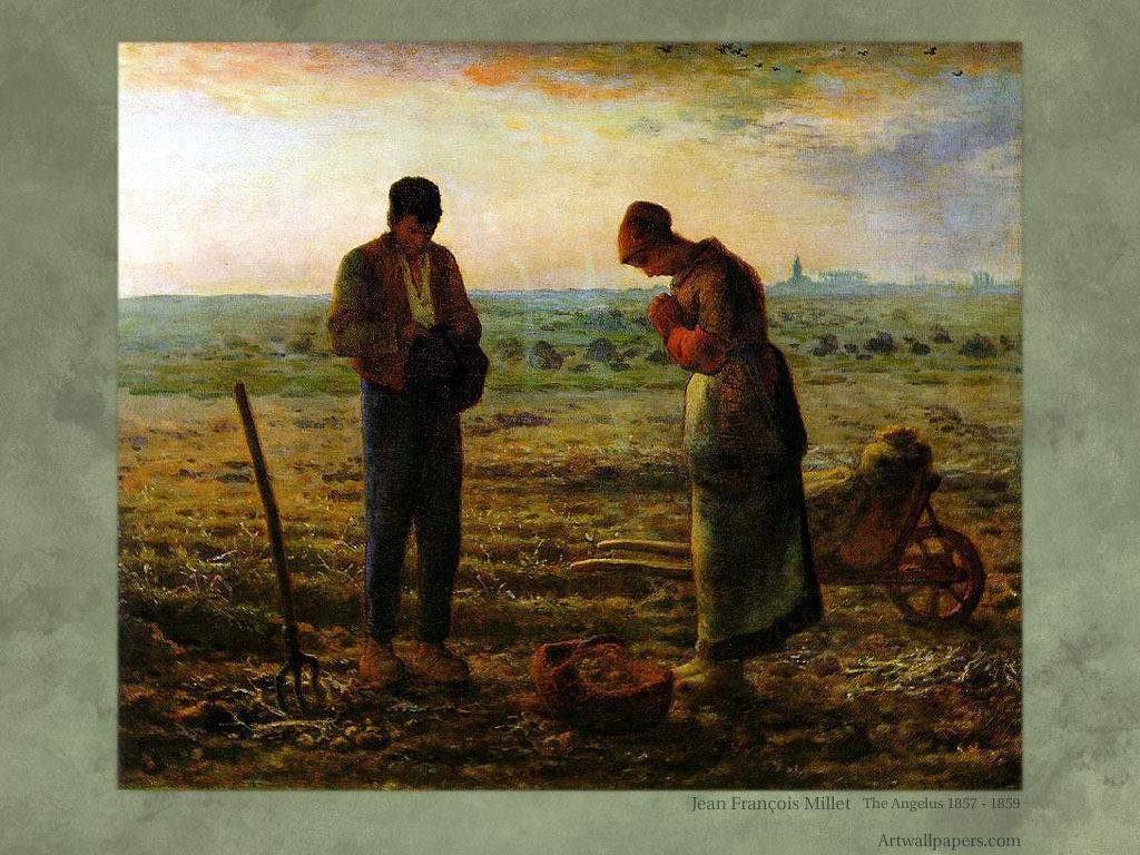 Artistic Wallpaper: Millet - Gleaners