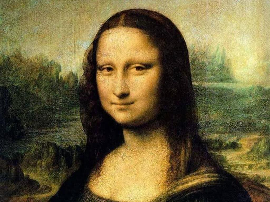 Artistic Wallpaper: Mona Lisa