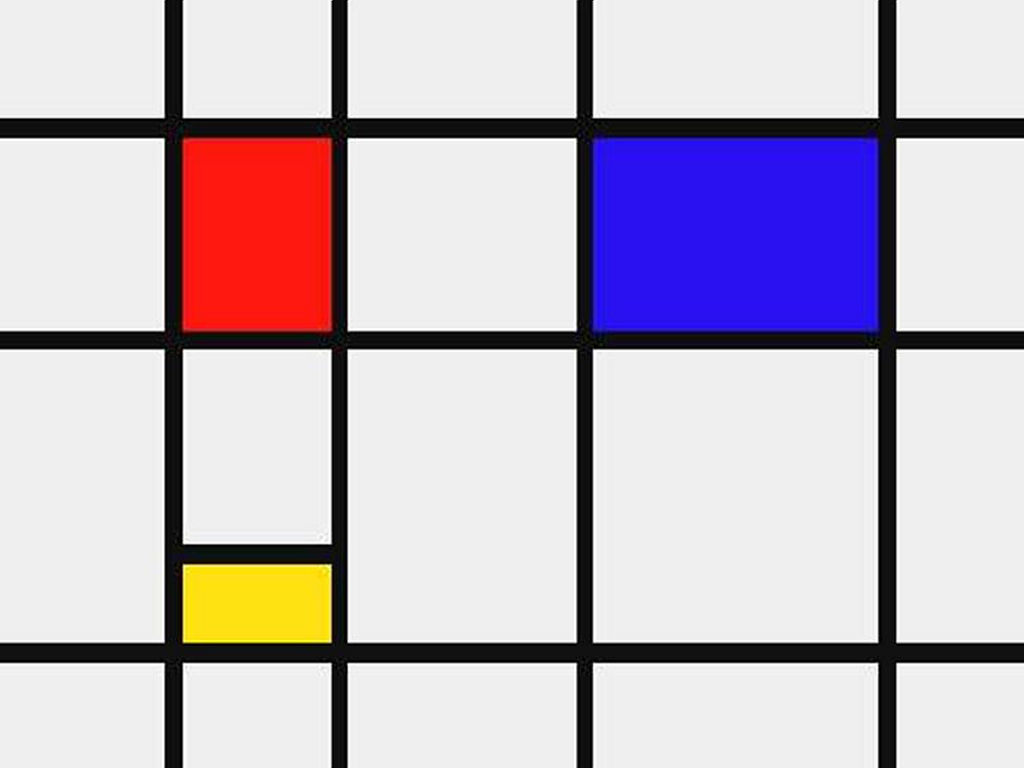 Artistic Wallpaper: Mondrian