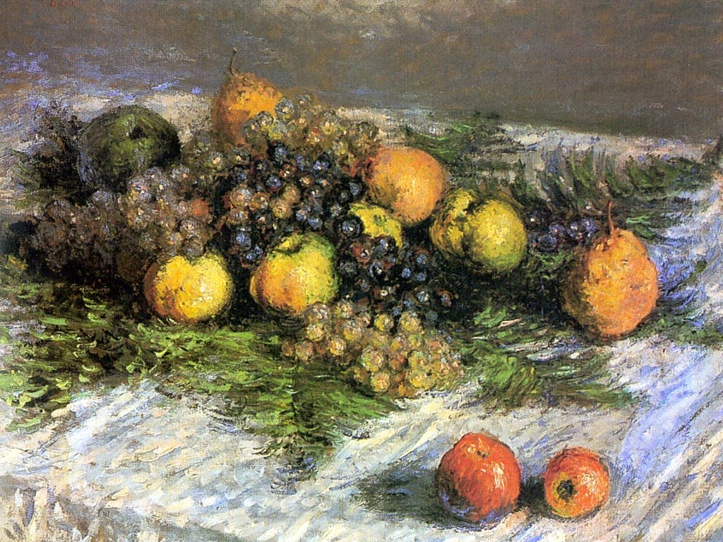 Artistic Wallpaper: Monet - Nature Morte