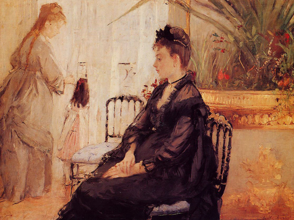 Artistic Wallpaper: Morisot - Berthe Interior