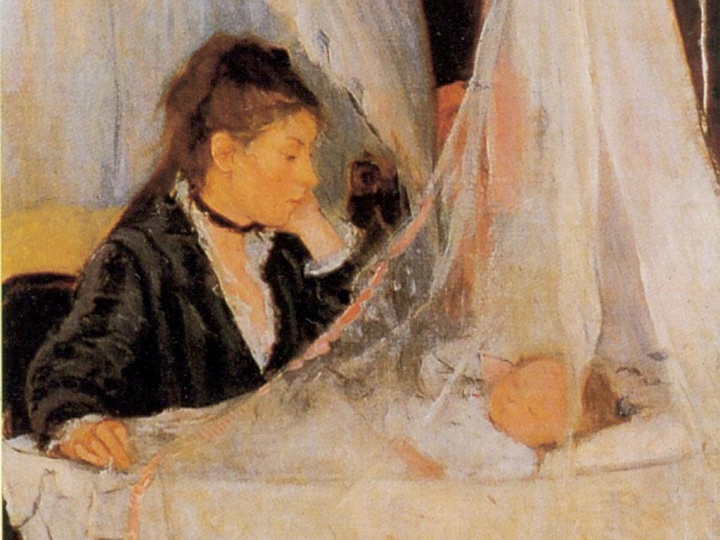 Artistic Wallpaper: Morisot - Le Berceau