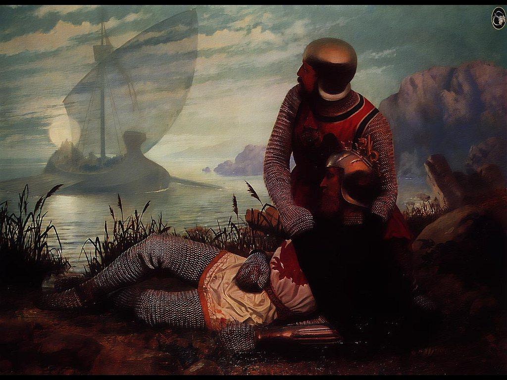 Artistic Wallpaper: Mort D' Arthur