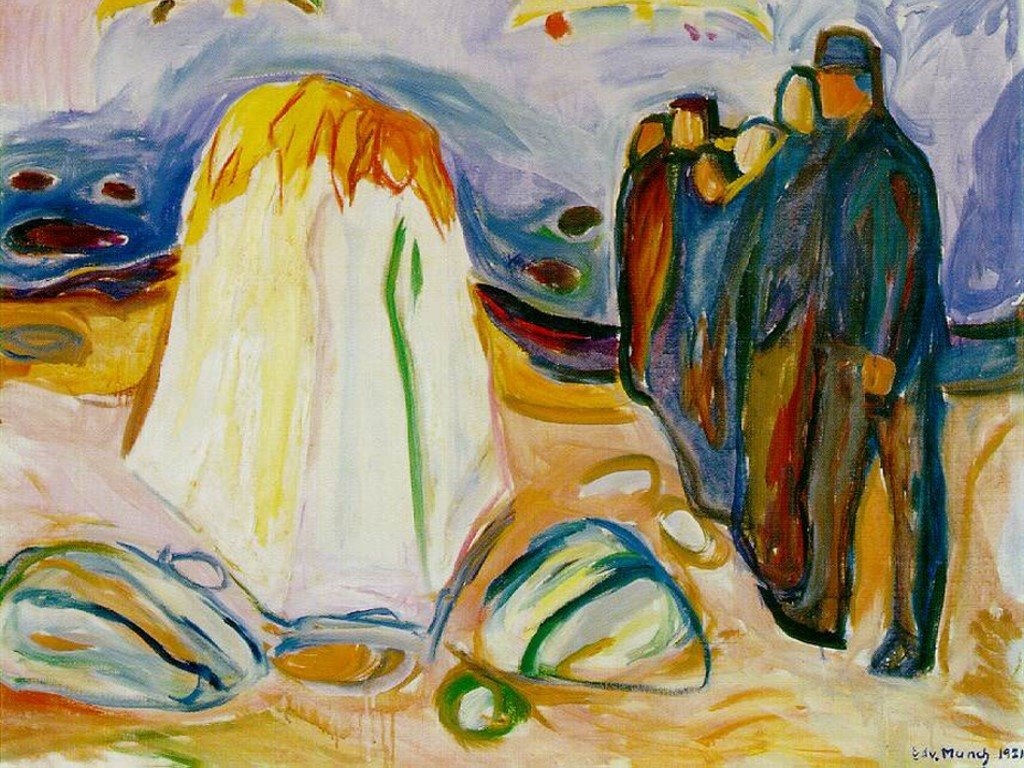 Artistic Wallpaper: Munch - Meeting