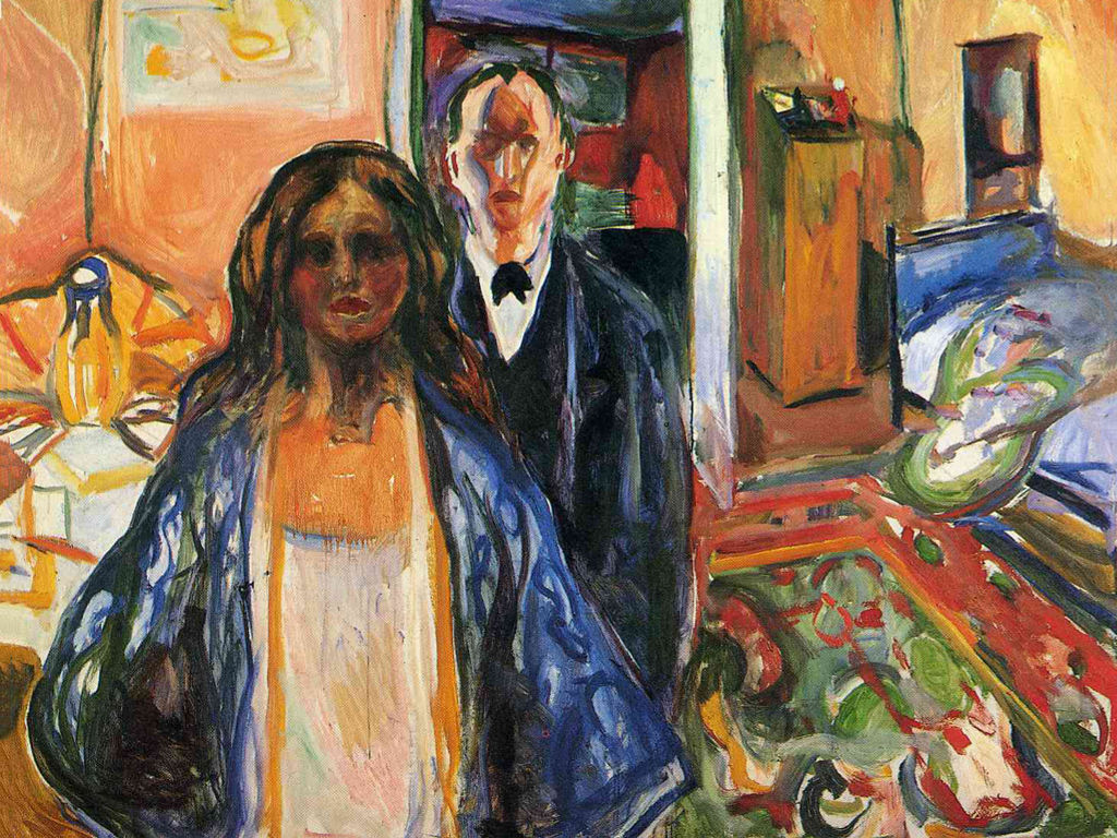 Papel de Parede Gratuito de Artes : Munch - The Artist and His Model