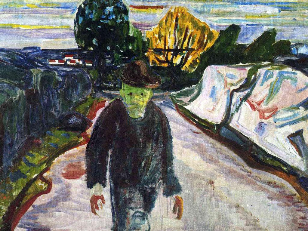 Artistic Wallpaper: Munch - The Murderer